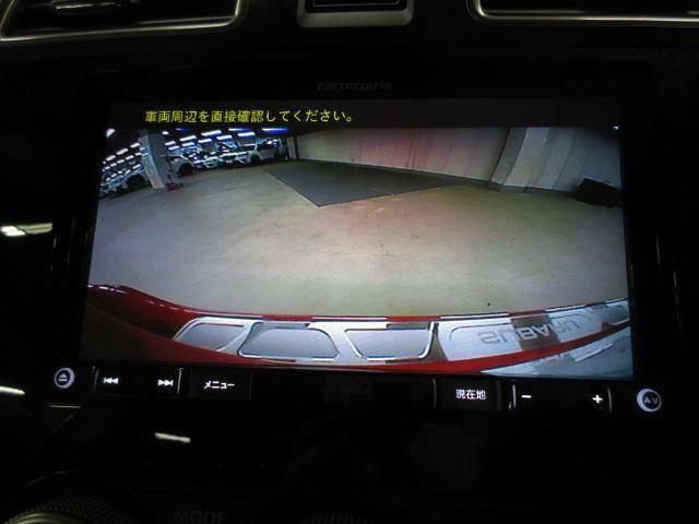 バックカメラ装備。後方の安全確認はおまかせ!!これで苦手な車庫入れも安心です♪小さなお子様のいるご家庭では重要です。