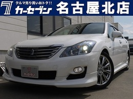トヨタ クラウンハイブリッド 3.5 ムーンルーフ/革シート/ユーザー買取車