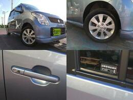 ドアハンドル横のボタンでドアロックの開閉ができたりエンジン始動も車内のスイッチを押すだけで鍵を出さなくても始動などができます。
