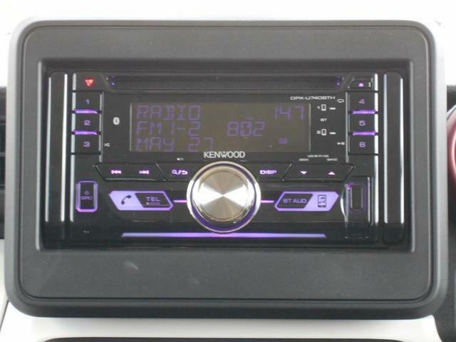 AM/FMラジオ付CDプレーヤーを装備しています。