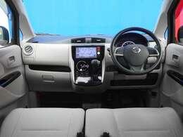 運転席からの視界が左右に広く隅々まではっきりと見渡せます。車の先端も把握しやすく安心して運転できます♪