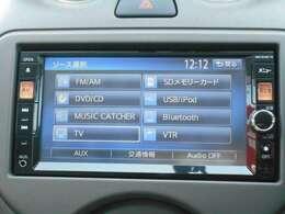 音楽録音、DVDも見れるナビゲーションが付いてます。