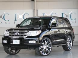 トヨタ ランドクルーザー200 4.6 AX G 60th ブラックレザーセレクション 4WD サンルーフ ナビTV フリップダウン 1オーナ