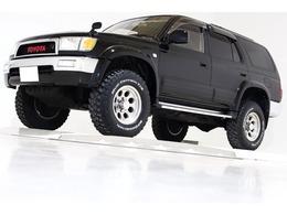 トヨタ ハイラックスサーフ 2.7 SSR-X ワイドボディ 4WD リフトUP ブラックレザー調シートカバー