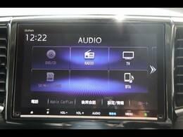 ホンダ純正ナビを装備。フルセグTV、ブルートゥース接続、DVD再生可能、音楽の録音も可能です。