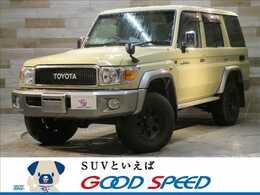 トヨタ ランドクルーザー70 4.0 4WD 純正SDTV カメラ 電動ウィンチ 4WD