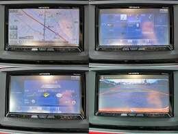 HDDサイバーナビを装着!地デジ Bluetoothオーディオ DVD再生 音楽録音等、充実のナビゲーションです!もちろん、バックモニター付きで、駐車も楽ちんです!