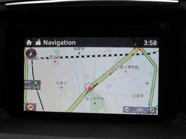 【マツダコネクトナビ】7インチWVGAセンターディスプレイを採用。ソフトウェアをアップデートでき、常に最新のサービスを利用できるコネクティビティシステム搭載!