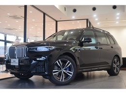 BMW X7 xドライブ35d Mスポーツ ディーゼルターボ 4WD 弊社デモカー黒革パノラマサンルーフ7人乗
