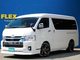 トヨタ ハイエース 2.7 GL ロング ミドルルーフ FLEXコンプリート ナビPKG