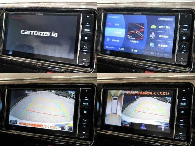 カロッツェリア SDフルセグ地デジナビ【RW711】・バックモニター&パノラミックビューモニター搭載!安全装備も充実です!