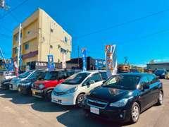 軽自動車から輸入車まで幅広い車種構成でお出迎え♪直売だからできる高額査定にご期待を!!