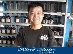 代表の吉田晃敏です!お客様を第一に、一生懸命サポートします!