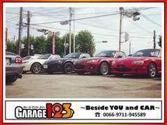 モータースポーツに18年携わった、店主が良質な車両のみを厳選仕入れ!価格品質ともに魅力的なロードスターを多数展示!!