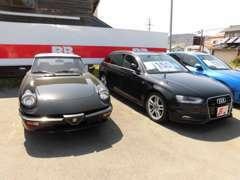 輸入車、特にイタリア車やフランス車の買取販売も得意です