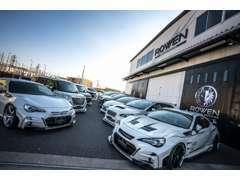 新車・中古車のカスタムコンプリートカー販売専門店!ROWENエアロパーツを中心に、ご希望のスタイルで製作をさせて頂きます