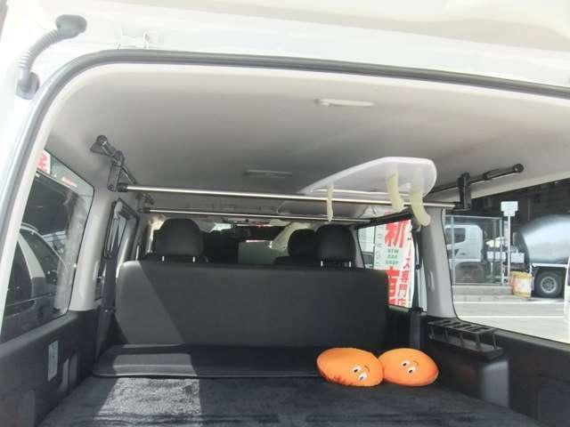 ルームキャリア!ロングボード ショートボード スノーボードも積めちゃいます!標準装備!