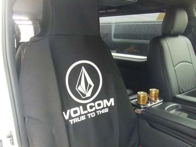 VOLCOM防水シートカバー無料!! サーファーズPKG
