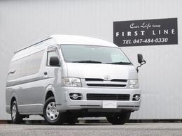 トヨタ ハイエースコミューター 2.5 GL ディーゼルターボ 4WD 1ナンバー登録 普通貨物 8人乗り