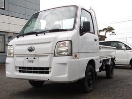 スバル サンバートラック 660 TB 三方開 4WD 走75000・エアB・5MT・切替4WD