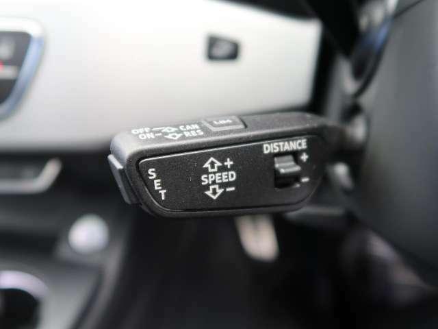 ●アダプティブクルーズコントロール『自動で前の車との車間距離を一定に保ち、速度調整しながら走行します!高速道路や自動車専用道路で使用する便利な機能です!』