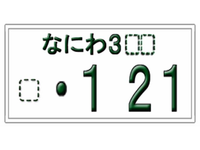Aプラン画像:ナンバープレートの大きい4桁の数字をお選びいただけるプランです