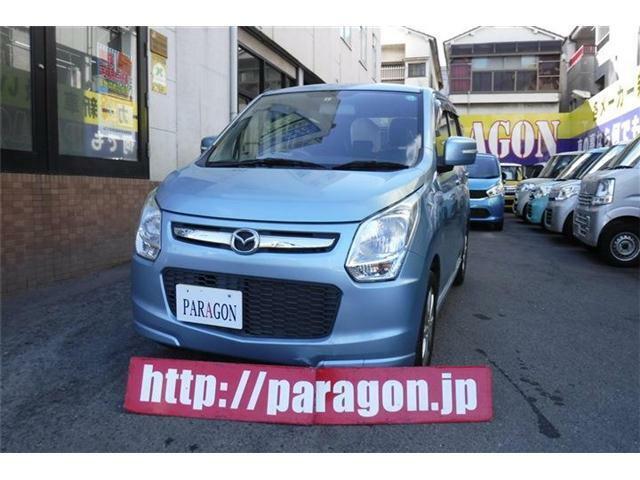 お買得な軽自動車マツダフレアXS!ナビゲーション、スマートキー、アルミホイール、電動格納ドアミラー装備!!