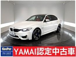 BMW M3セダン M DCT ドライブロジック カーボンルーフ シートヒーター ETC