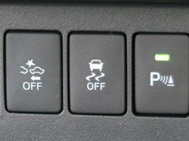 横滑防止装置を装備!【急なハンドル操作や滑りやすい路面でのコーナリング時に横滑りが発生した場合、ブレーキとエンジン出力を自動的にコントロールして車両安定性を確保します。】