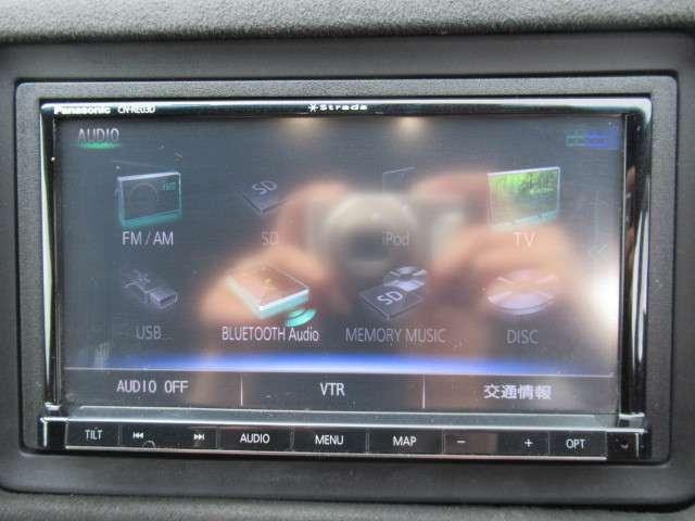 社外ナビ付きでフルセグ&DVD再生&Bluetoothが付いて便利です♪