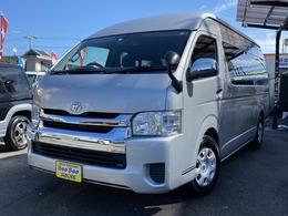 トヨタ ハイエース 2.7 グランドキャビン HDDナビ バックモニタ―電動スライドドア