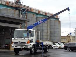 日野自動車 レンジャー タダノ3段クレーン ZR303 積載2850kg 床板アピトン仕様 荷台内寸長520cm幅210cm