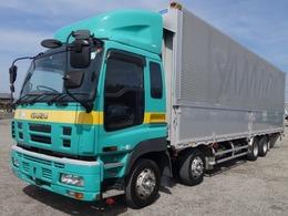 いすゞ ギガ 車検整備付 アルミウイング 積載13t 荷台内寸959×240×265 後輪エアサス