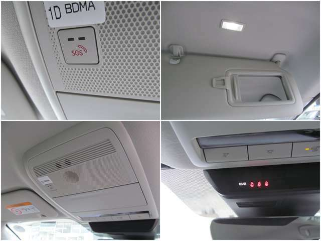 緊急時に役立つSOS機能!車載の通信機&携帯の接続を利用し、専用のオペレーターにおつなぎし、対応します。
