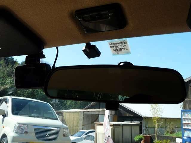 ETCにドライブレコーダーも着いています、これで安心ドライブ