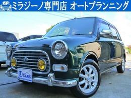 ダイハツ ミラジーノ 660 ミニライトスペシャル 後期ウッド 新品タイヤ 新規タイベル交換