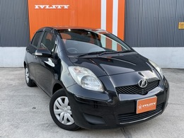 トヨタ ヴィッツ 1.0 F リミテッドII 1年無制限距離保証付女性ワンオーナ買取車