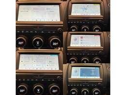 ナビゲーションだけではなく、Apple Car Playなども操作可能なメインモニター、エフィシェントドライブライン稼働状況など、車両の様々な情報をご確認いただけます。