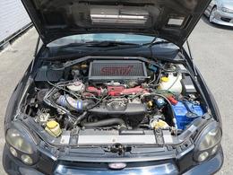 メーカーカタログ引用エンジン型式 EJ20      280ps(206kW)/6400rpm トルク39.2kg・m(384Nm)/4400rpm  種類水平対向4気筒DOHC16バルブICターボ