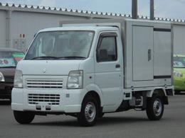 スズキ キャリイ 冷蔵冷凍車ー5℃設定 AT車  スライドドア付 バックモニター