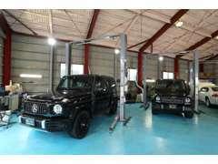 自社認証工場を完備。100項目の納車前点検・整備を実施!安心してお乗りいただけます。●外国自動車輸入協同組合(Faia)加盟店
