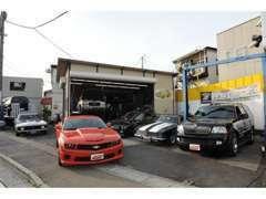 エイブル展示場にはアメ車マニアから初心者の方までが心躍るアメ車が皆様をお持ちしています。