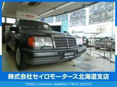 ショールームにはオートグリムデモ車 W124 300E4M 展示中です!