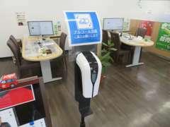コロナウイルス感染症への予防と対策実施店舗です。