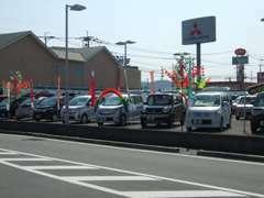 国道208号線を荒尾方面へ『八江町』の交差点を右折!グッディ大牟田店の向いです。