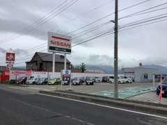 会津若松市内国道49号線沿いにございます。大きな看板が目印です☆