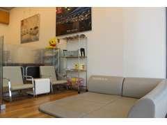 店内はキッズスペース完備!お子様も大歓迎です!フェイスブックページ作ってます。http://www.facebook.com/nph.hiro