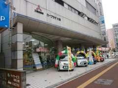 大橋店の外観♪西鉄大橋駅が目の前のアクセスしやすいお店です。