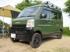 遊カ~ズはアウトドアフィールドで楽しむをコンセプトに軽キャン、ジムニー、軽トラのカスタム車を製作、販売しております。