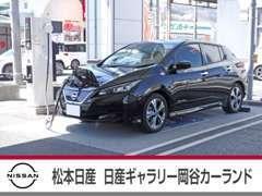 電気自動車の日産の名の通り、当店にも急速充電器を設置しております。